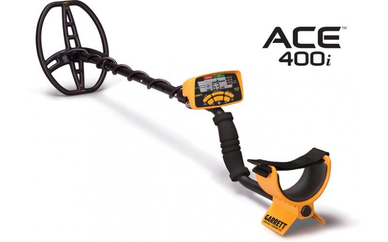 Garrett ACE 400i + 5 cadouri + livrare gratuita si garantie 3 ani