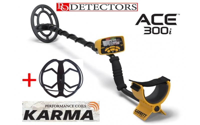 Garrett 300i + Sonda Karma + 6 cadouri cu livrare gratuita si garantie 3 ani