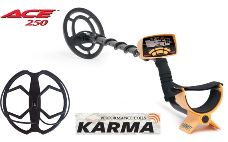 Garrett ACE 250 + Sonda Karma cu livrare gratuita si garantie 3 ani