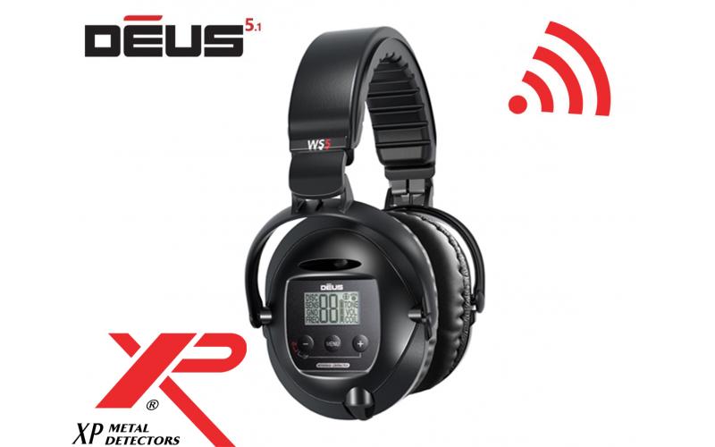 Casti fara fir Wireless WS5 pentru XP DEUS