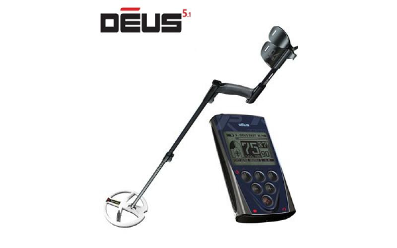 XP DEUS v5.1 cu bobina 22,5 HF si telecomanda