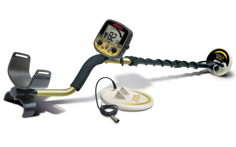 "Fisher Gold Bug Pro CC cu 2 sonde - de 5"" si 10,5"""