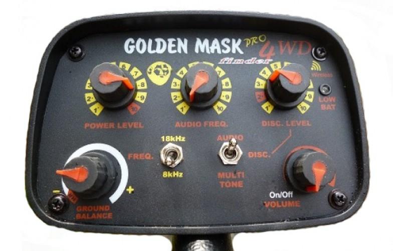 Golden Mask 4WD Spider pro PACK + 3 sonde