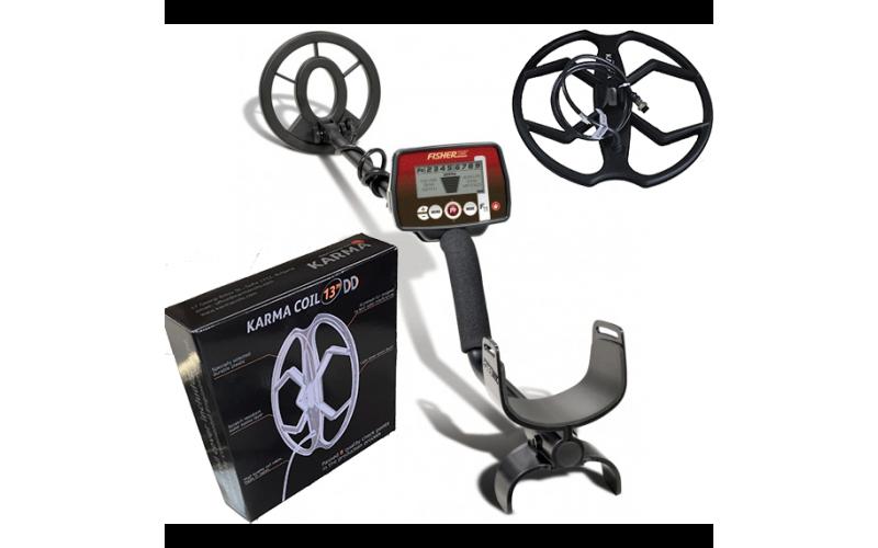 Detector de metale Fisher F11 cu 2 bobine + 3 cadouri + transport gratuit prin curier