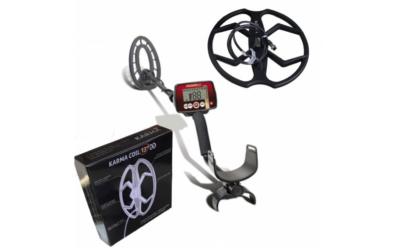 Detector de metale Fisher F22 cu doua bobine + 3 cadouri + transport gratuit prin curier