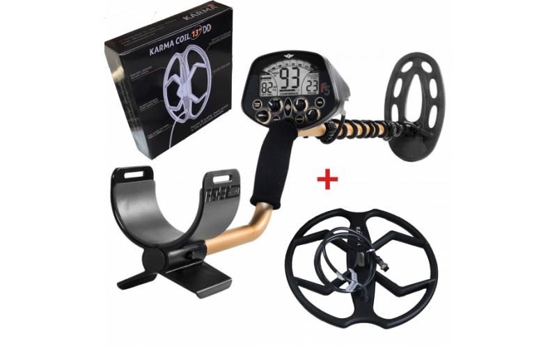 Detector de metale Fisher F5 cu doua bobine + 3 cadouri + transport gratuit prin curier